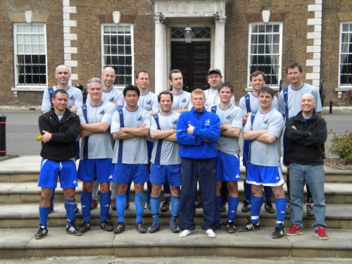 Westport FC at Oxford.  Ivan Gazidis is in the back row, second from left.