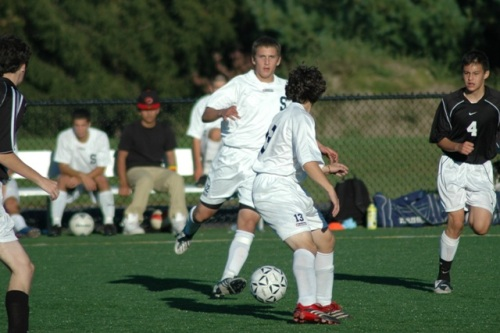 Kosta Papadopoulos in action last fall