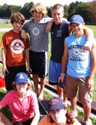 Loeffler Field - Staples High School boys soccer terrace