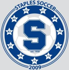 Staples boys soccer 2009 T-shirt