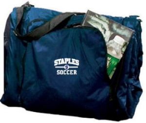Staples High School boys soccer blanket bag