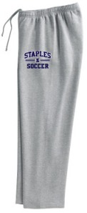 Staples High School boys soccer sweatpans
