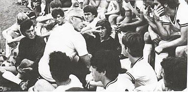Albie Loeffler with the 1972 team.