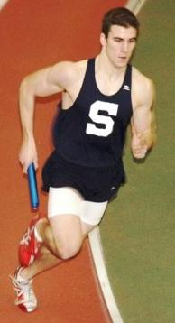 Sean Gallagher's speed and strength on the track helped him on the soccer field too -- and now at the US Naval Academy.