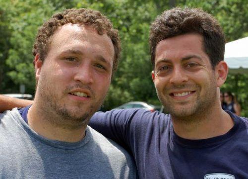 Dave Sharpe '07 (left) and Matt Lamb '07.
