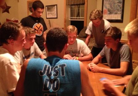 Card games in New Hampshire were quite intense.
